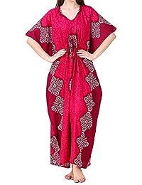 Traditional Deco Storz algodón de Las Mujeres del camisón Kaftan