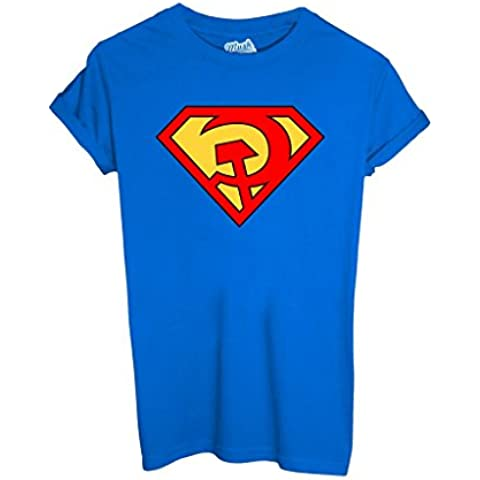 T-Shirt Superman Comunista - Política By Mush Dress Your Style