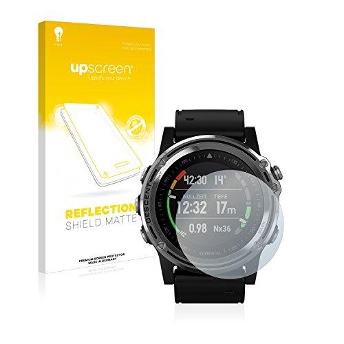 upscreen Matt Displayschutzfolie für Garmin Descent Mk1 Schutzfolie Folie – Entspiegelt