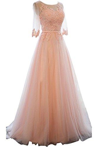 Victory Bridal -  Vestito  - linea ad a - Donna Orange