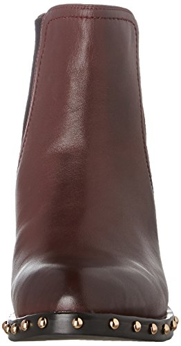 Atelier Mercadal Freddy, Bottes Chelsea Femme Rouge (Nappa Bordeaux)