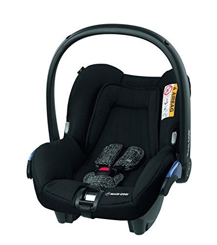 Maxi-Cosi Citi Babyschale, Kinderautositz, Auto-Kindersitz Gruppe 0+, schwarz