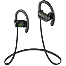Auriculares Bluetooth DOY impermeables V4.1 Deportivos inalámbricos Cascos con aptX,adecuados Para correr, Andar en bicicleta, para iphone7,7plus, Samsung S6 y Otros Dispositivos Bluetooth (Verde)