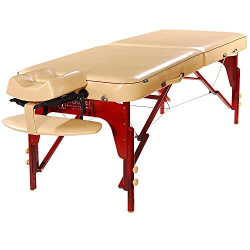 Preisvergleich Produktbild Master Massage Monroe Massageliege,  tragbar,  70 cm,  cremefarben