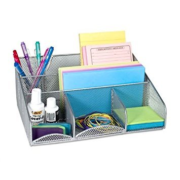 Design-Ideen Schreibtisch Station, Mesh, Silber Mesh-design-ideen