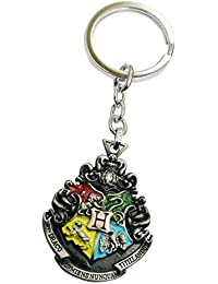 Aai Silver Harry Potter Double Sided Inspired Hogwarts Key Case
