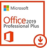 Microsoft Office Professional Plus 2019 für 1 PC - Neu und unbenutzt - (Produktschlüssel ohne Datenträger) - Beinhaltet Word, Excel, Outlook, Powerpoint, Publisher, Access und Skype for Business