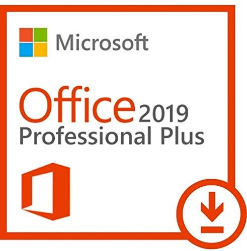 Microsoft Office Professional Plus 2019 für 1 PC - Neu und unbenutzt - (Produktschlüssel ohne Datenträger) - Beinhaltet Word, Excel, Outlook, Powerpoint, Publisher, Access und Skype for Business