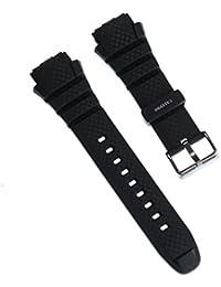 Calypso Reloj de pulsera Outdoor material de la correa PU Negro para Calypso K5626Relojes