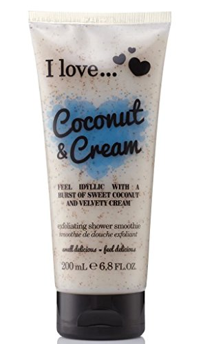 I Love... Coconut & Cream Exfoliating Shower Smoothie 200ml -