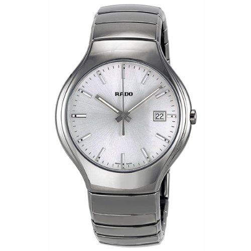 Rado True r27654122Unisex Negro Cerámica cerámica caso FECHA reloj