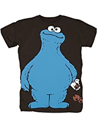 Sesamstrasse - Krümelmonster Cookie Thief Herren T-Shirt