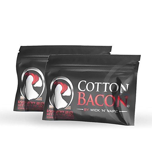 Cotton Bacon für Selbstwickelverdampfer - 2 Packung