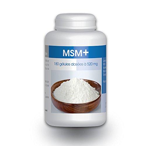 Méthyl-Sulfonyl-Méthane - MSM+ - 180 Gélules