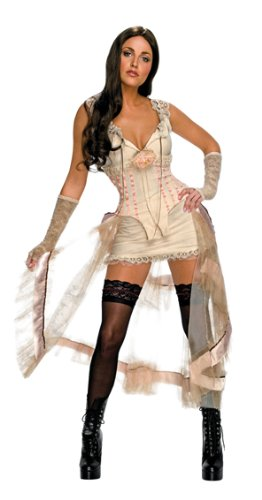 Jonah Hex Western Damen Kostüm Lilah weiß Größe M - Jonah Hex Kostüm