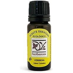 Verbena Aceite Esencial BIO 10 ml. Puro 100% Certificado Ecológico ECOCERT