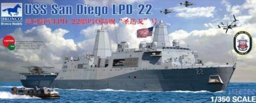 Unbekannt Bronco NB5038 - 1/350 USS San Diego LPD-22