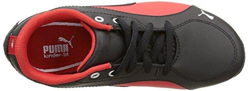 Puma Jungen Drift Cat 5 L Sf Sneaker Schwarz - Noir (Black/Rosso Corsa)