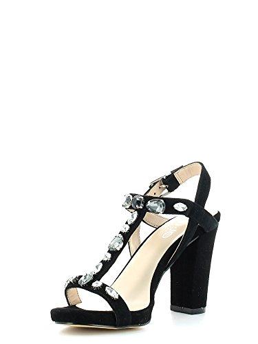 Sandalo donna Liu-Jo Nicole S15049 nero tacco 90 P/E'15 Nero