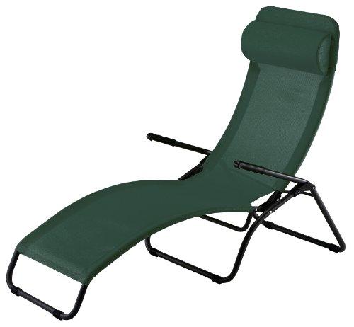 Vert Sp Garden Chaise Longue Pliable 56/x 189/x 69/cm 42609