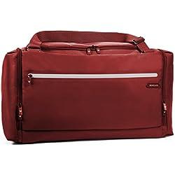 Roncato Borsone Bolsa de deporte, Rojo (Rosso Scuro)