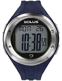 Solus Unisex Digital Watch with LCD Dial Digital Display and Blue Plastic or PU Strap SL-900-003