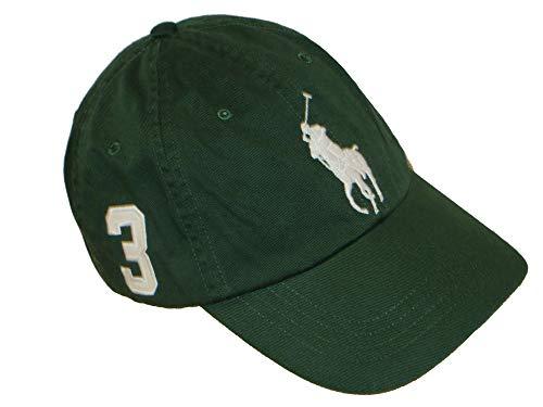 f7bcbb7757e2f3 Ralph Lauren Basecap Kappe Khaki Grün Big Pony
