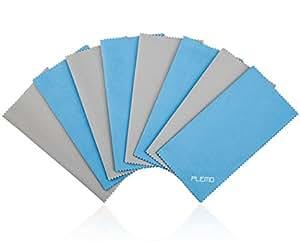 PLEMO Panno di Pulizia in Microfibra per Schermi LCD, Fotocamera Lenti, Occhiali, Compressei, Telefoni Cellulari, Tablet, Lenti