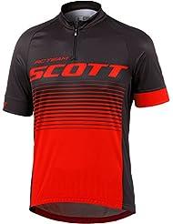 Scott RC Team 20 Fahrrad Trikot kurz weiß/schwarz 2017
