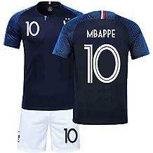 bf82586c6 YXST Campeón Camiseta de Fútbol Uniforme de 2018 Copa Mundial de Dos  Estrellas para Adultos y