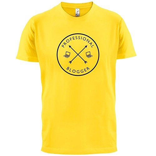 Professioneller Blogger - Herren T-Shirt - 13 Farben Gelb