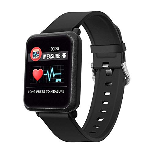 OPTA SB-047 O-Versa Bluetooth Fitness Smart Watch for Android, iOS Devices (Black)