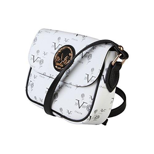 V&A Enterprises , Sac à main porté au dos pour femme Blanc blanc blanc