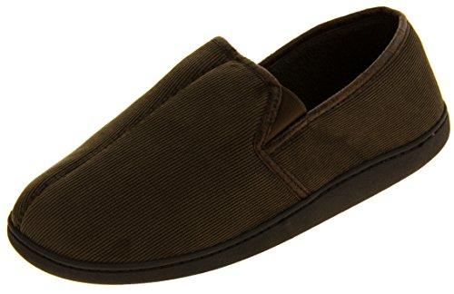 Hommes Coolers Pantoufles à semelle extérieure brown