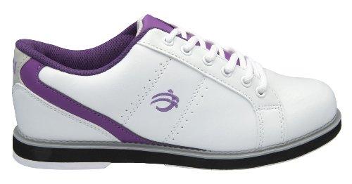 BSI Damen 460Bowling Schuh, Damen, weiß/violett, Size 5