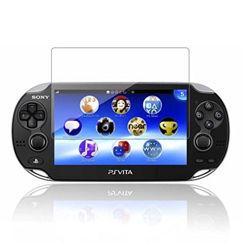 2 Stück Schutzfolie für Sony Playstation Vita 1000 Akwox 9H Härtegrad Panzerfolie für PS Vita 1000 Displayschutz Glasfolie Hohe Auflösung Kratzfest