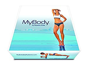 My Body By Myleene Klass Women's Home Workout Program Inc. Dvds and Hyperwear Sandbell, Black, 3.5 kg