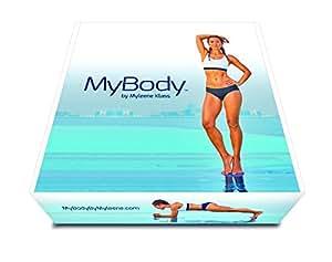 My Body By Myleene Klass Women's Home Workout Program Inc. Dvds and Hyperwear Sandbell, Black, 3.5 kg