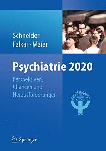 Cover »Psychiatrie 2020«