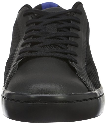 Lacoste Straightset SR 316 1, Baskets Basses Homme Noir - Noir (02H)