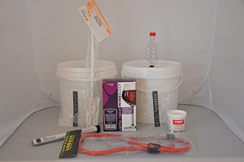 Completo Brew Buddy Merlot 6bottiglia di vino 7Day starter kit, ideale come regalo