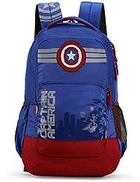 Skybags Sb Marvel 31.1328 Ltrs Blue School Backpack (SBMRV06BLU)