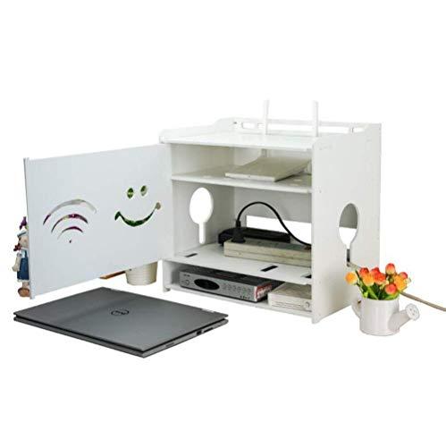GJF Set-Top Box Regal Desktop Wohnzimmer TV Wand Wireless WiFi Router Aufbewahrungsbox (größe : S) -