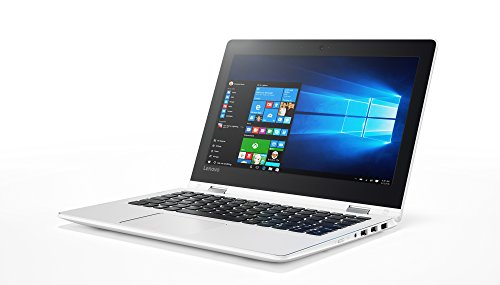 "Lenovo Yoga 310-11IAP - Ordenador portátil convertible 11.6"" HD (Intel Celeron N3350, 2 GB RAM, 32GB de almacenamiento, Intel HD 500, Windows 10 Home) blanco - Teclado QWERTY Español"