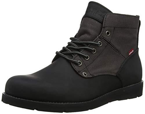 LEVIS FOOTWEAR AND ACCESSORIES Jax, Herren Desert Boots, Schwarz (B Black/Brown 60), 43 EU (9 UK)