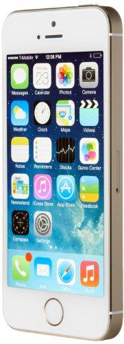 Apple iPhone 5S - Smartphone  10 2 cm  4    pantalla de retina  procesador A7 con coprocesador M7  c  mara de 8 megap  xeles  16 GB de memoria interna