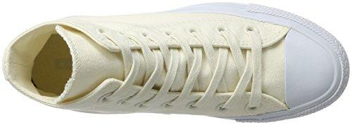 Converse Unisex-Erwachsene Chuck Taylor All Star Hohe Sneaker Elfenbein (Egret/Egret/Pure Platinum)