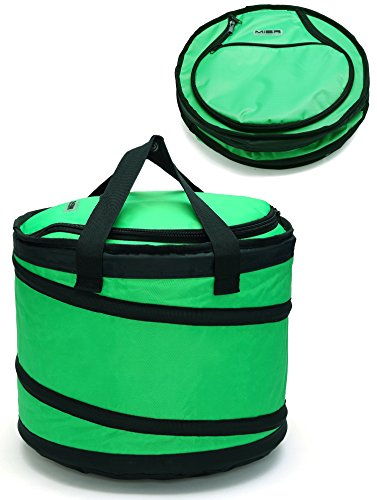 mier-folding-cool-bag-for-picnic-camping-party-golf-shopping-car-trip-fits-in-suitcase-30can-green