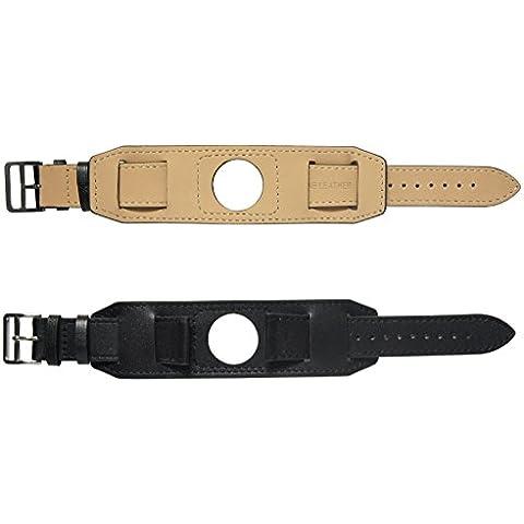 22mm Echtes Leder Manschette Uhrenarmband armband Werkzeug Für LG G Watch R / Urbane / Pebble Time / Pebble Time Steel / Gear 2 R380 / Zenwatch 1st