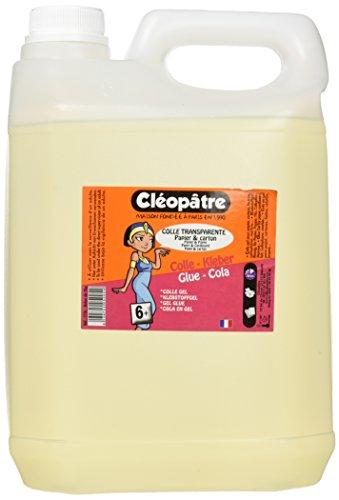 Cléopâtre CT5L Papier Kleber COLLE, 5 kg, transparent